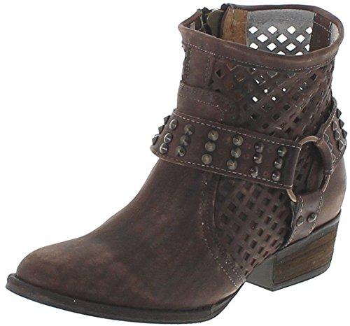 Mezcalero Shoes Damen Lederstiefel 1705 DE Luxe Braun, Groesse:36