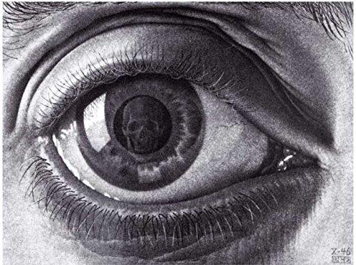 Escher Poster 24 cm 35x50 Poster Affiche Plakat Fine Art Il Negozio di Alex