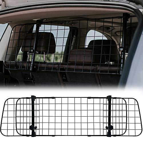NEEZ Rejilla de protección para el maletero de para perros, rejilla de separación universal para el coche, rejilla de transporte, protección para el maletero para perros para transporte seguro
