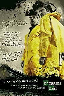 Cool TV Props Breaking Bad Poster – Notorious Breaking Bad Merchandise – TV Show Accessories Inspired by Breaking Bad