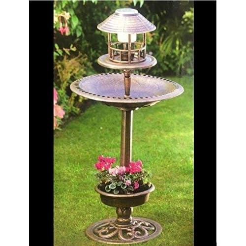 Gardman L26228 Large Bluebell Flower Blue Solar Stake Light Garden LED
