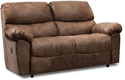 Amazon.com: Steve Silver Anastasia Fabric Reclining Sofa in ...