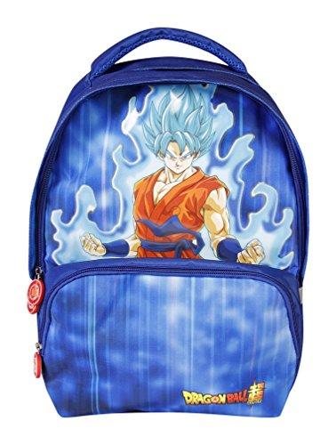 Clairefontaine Dragon Ball Mochila Infantil 40 Centimeters 25 Azul  Blue