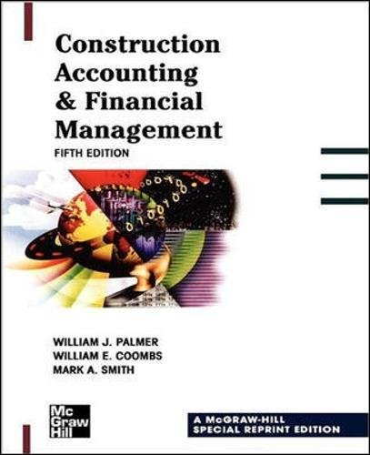 Construction Accounting & Financial Management 5th Edition