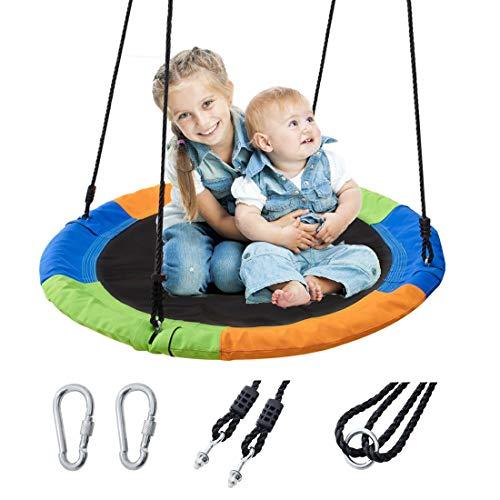 YGJT Columpios Grande Longitud Ajustable 102x102x178CM Capacidad de Peso 300KGColumpios de Gimnasio para Interior y Exterior. Juguete para Niños Adultos
