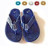 Acupressure Magnetic Health Care Foot Massager Reflexology (Footwear) Sandals (US 8.0/ Euro 41/ Aus 7.5)