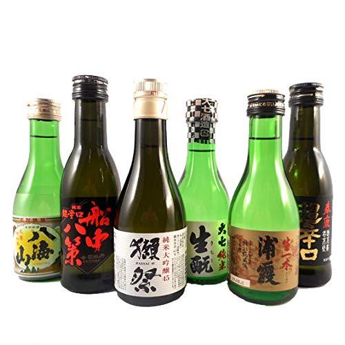 父の日 プレゼント ギフト 日本を代表する蔵元 人気銘酒 飲み比べ ミニボトル6本セット 日本酒