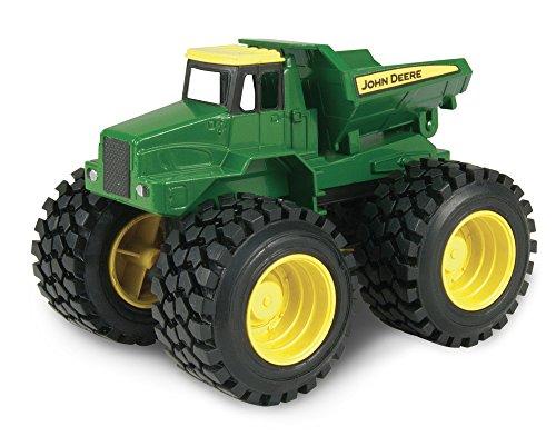 Tomy 30692933) John Deere Monster - Camión de carga agita y suena