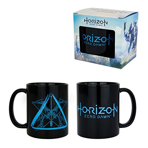 Horizon Zero Dawn - Keramik Tasse - Arrow - Logo - Geschenkbox