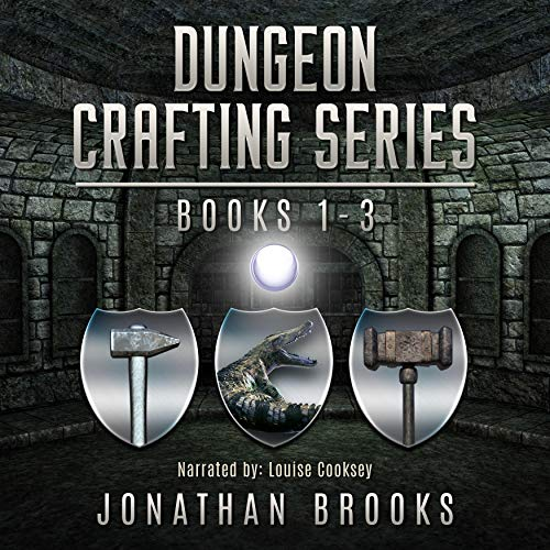 Dungeon Crafting Series Books 1 Through 3 cover art