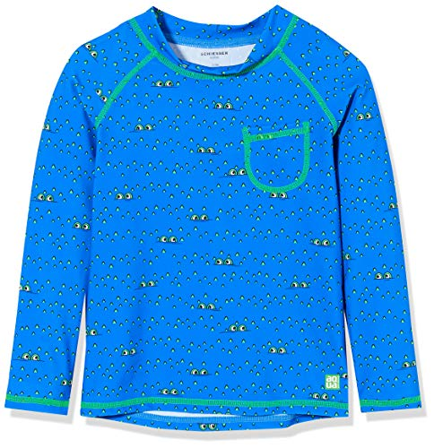 Schiesser Jungen Bade-Shirt Badehose, Blau (Royal 819), 128