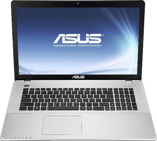 Asus F750JB-TY010H 43,9 cm (17,3 Zoll) Notebook (Intel Core i7 4700HQ, 2,4GHz, 8GB RAM, 1TB HDD, NVIDIA GT 740M, DVD, Win 8) schwarz