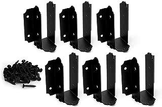 OZCO 56639 Laredo SunsetJoist Hanger Flush 6 to 8-inch, (6 per Pack)