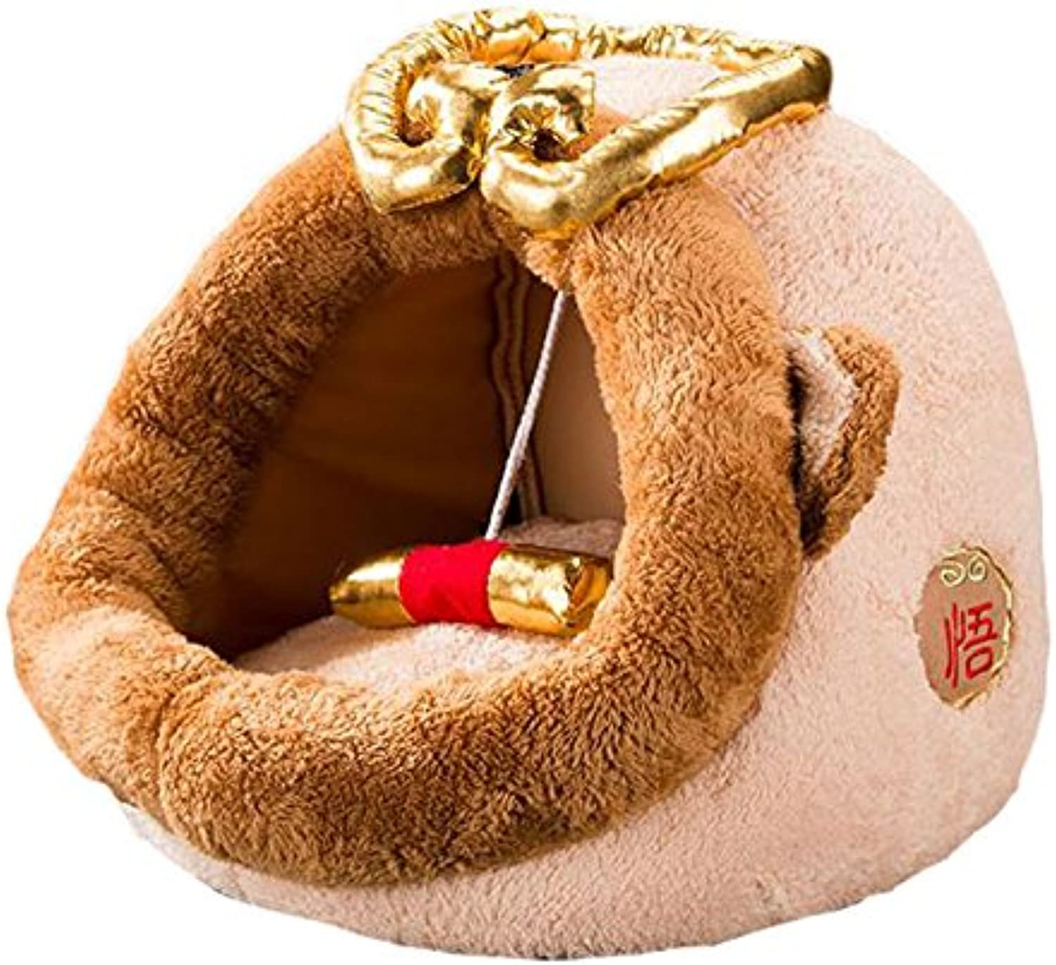 Pet harem Pet Nest For Cats And Small Dogs Closed Four Seasons Universal Pet Supplies Goku Style ( Size   S )