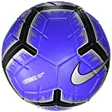 Nike Strike Ballon Ballon de Foot Racer Blue/Black/Metallic Silv 5