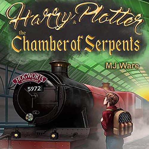 Harry Plotter and the Chamber of Serpents cover art