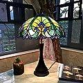 Chloe Lighting Tiffany Style Victorian Design 2-light Dark Bronze Table Lamp