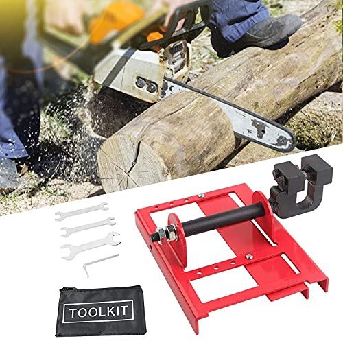 InLoveArts Mini molino de motosierra, corte de madera, motosierras, riel guía de madera para trabajadores de la construcción, contiene 1 molinillo eléctrico 1 juego de herramientas de montaje
