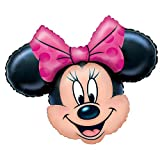 Anagram Minnie Mouse Head 28 Inch Jumbo Foil Balloon