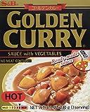 Salsa de S & B Golden Curry de verduras (picante) 230g (1 porción)