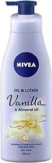 Nivea Vanilla and Almond Oil Body Lotion For Dry Skin (200ml)