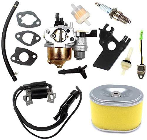 fenglei okuya Carburador Carburador con bobina de encendido y filtro de aire para Honda GX160 GX200 5.5 6.5 HP 168F generador cortacésped motor motor piezas de repuesto