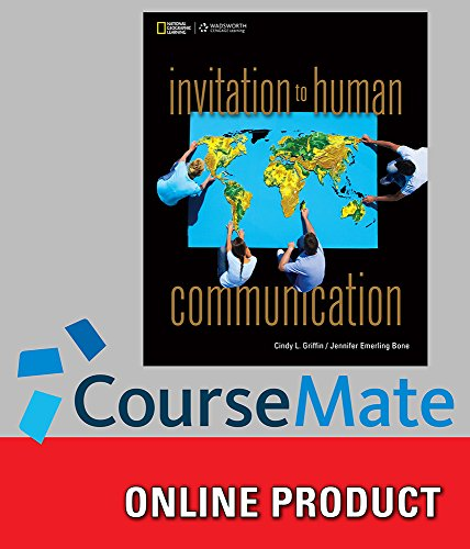 CourseMate (with SAM, Speech Builder Express 3.0, and InfoTrac) for Griffin/Bone's Invitation to...