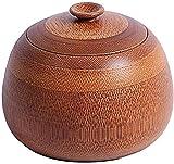HUIYAN Urnas De Incineración Urna Funeraria Funeral urna de Madera de la cremación urna Hecha de bambú Funeral urna for Cenizas Humana y Animal doméstico Memorial funeraria Urna