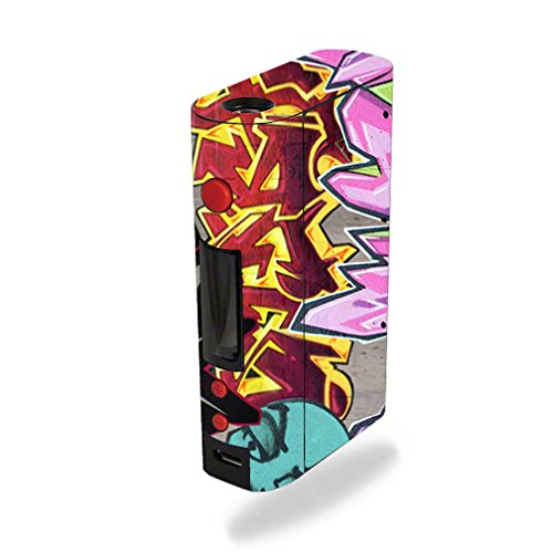 MightySkins Skin Compatible with Kanger KBOX 200W – Graffiti W Style | Protective, Durable, and Unique Vinyl Decal wrap Cover | Easy to Apply, Remove, and Change Styles | Made in The USA