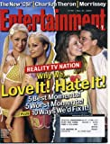 Entertainment Weekly May 21, 2004 Paris Hilton & Nicole Richie, Charlize Theron, Morrissey, CSI New York, Joss Whedon