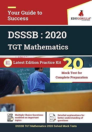 DSSSB TGT Mathematics 2020   20 Mock Test For Complete Preparation (English Edition)