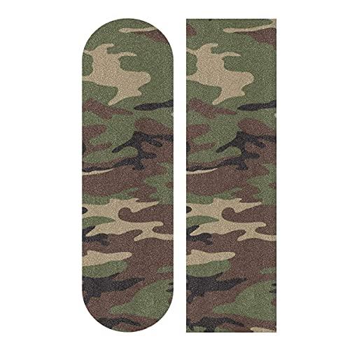 Militare esercito Camouflage Skateboard Grip Tape Longboard Griptape 1 foglio 93,1 x 9,1 pollici
