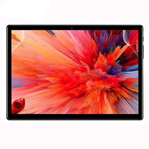Android 10,Tablet 10 pollici,4G LTE, 64GB Ram, 4GB Rom,Octa-Core,WiFi,doppia SIM (nero)
