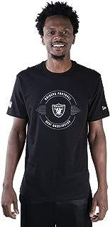 Camiseta New Era NFL Oakland Raiders 1960 Preta