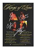 Kings Of Leon Signiert Autogramme 21cm x 29.7cm Plakat Foto