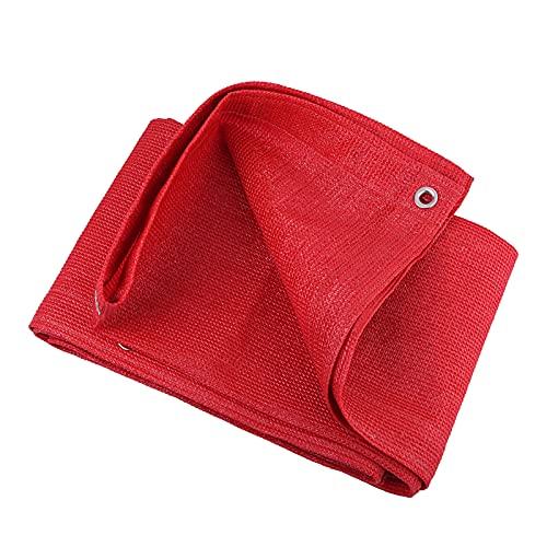 Tela De Sombra Resistente Red De Sombra 1x2m, 2x3m, 2x5m, 2x8m, 3x4m, 3x6m, 4x4m, 4x6m, 5x5m, Engrosamiento De Cifrado Vela De Sombra para Planta Exterior Terraza Azotea