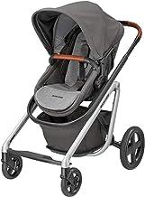 Maxi-Cosi Lila Cómoda silla de paseo, apta desde el primer día, sistema de viaje con moisés, 0 meses - 3.5 años, 0 - 15 kg, Nomad Grey (gris)