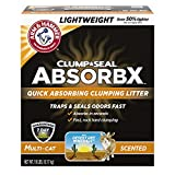 Arm & Hammer Clump and Seal AbsorbX Clumping Litter, Multi-Cat 18lb