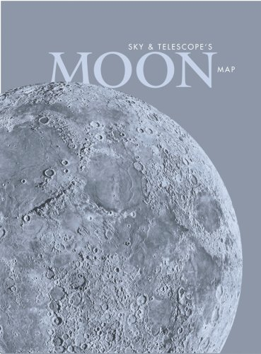 Sky & Telescope's Moon Map, Laminated