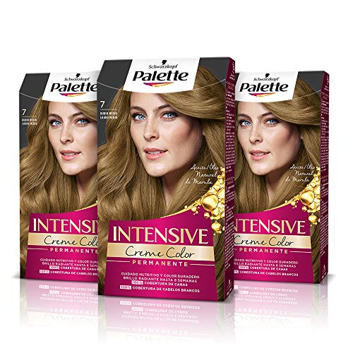 Palette Intense Cream Coloration Intensive Coloración del Cabello 7 Rubio...