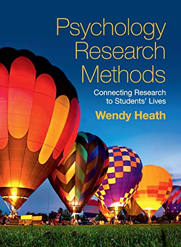 Compare Textbook Prices for Psychology Research Methods: Connecting Research to Students' Lives Annotated Edition ISBN 9781107461116 by Heath, Wendy