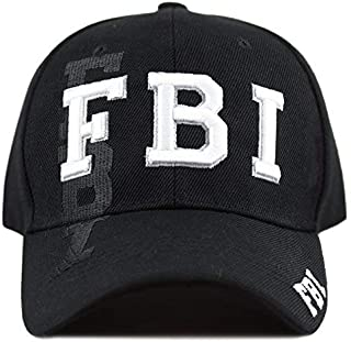 THE HAT DEPOT Law Enforcement 3D Embroidered Baseball One Size Cap