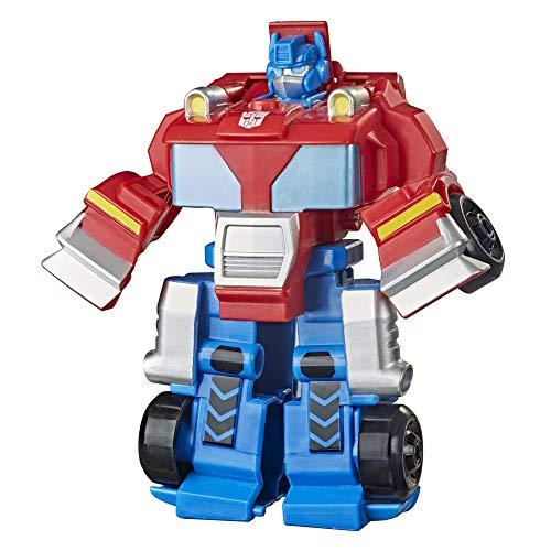 Transformers Rescue Bots Academy Classic Helden Team Optimus Prime-Juguete transformable de 11 cm, a Partir de 3 (Hasbro F0887)
