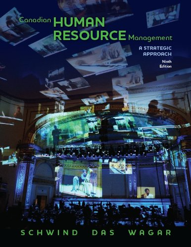 Canadian Human Resource Management, Ninth Edition w/ Connect Access Card