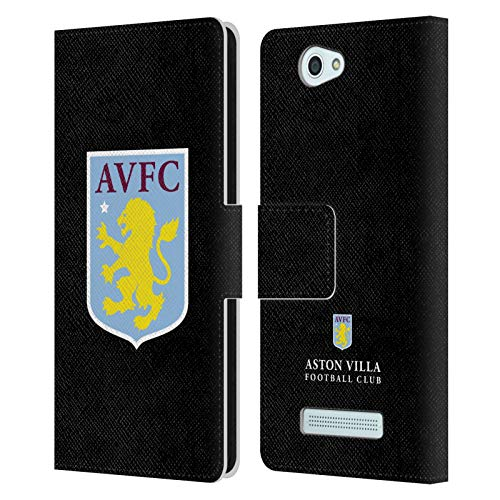 Head Case Designs Offizielle Aston Villa Football Club Away Torwart 2019/20 KIT Leder Brieftaschen Huelle kompatibel mit Wileyfox Spark/Plus