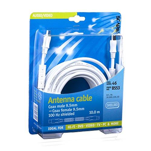 Scanpart Antenne Kabel Recht 10 M Ferriet W