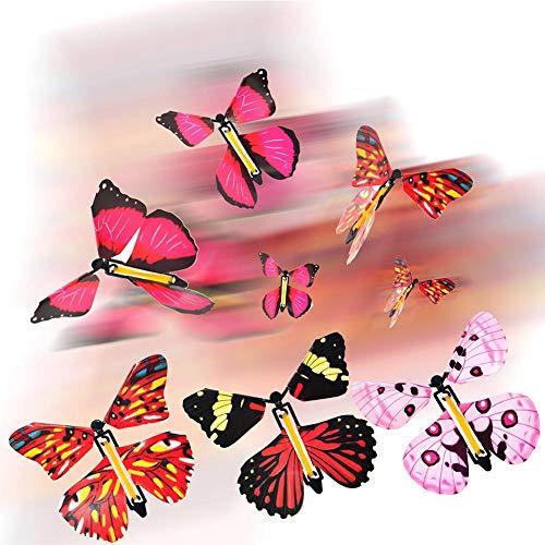 N/X 10 Piezas Divertidas Juguetes De Mariposa Voladora Wind