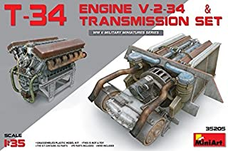 MiniArt T-34 Engine V-2-34 & Transmission Set 1/35 35205