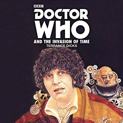 Doctor Who and the Invasion of Time audiobook cover art