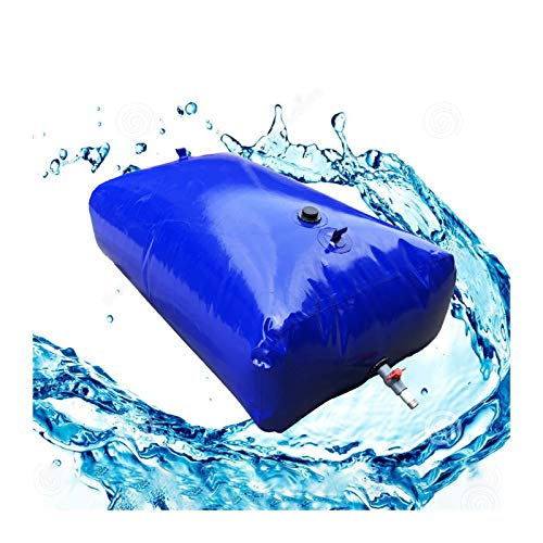 Almacenamiento de agua Recipiente Aire Libre Vejiga De Agua De PVC Gran Capacidad Sin BPA Plegable Patio Emergencia Tamaño Personalizado ZLINFE (Size : 4000L/3x1.7x0.8M)